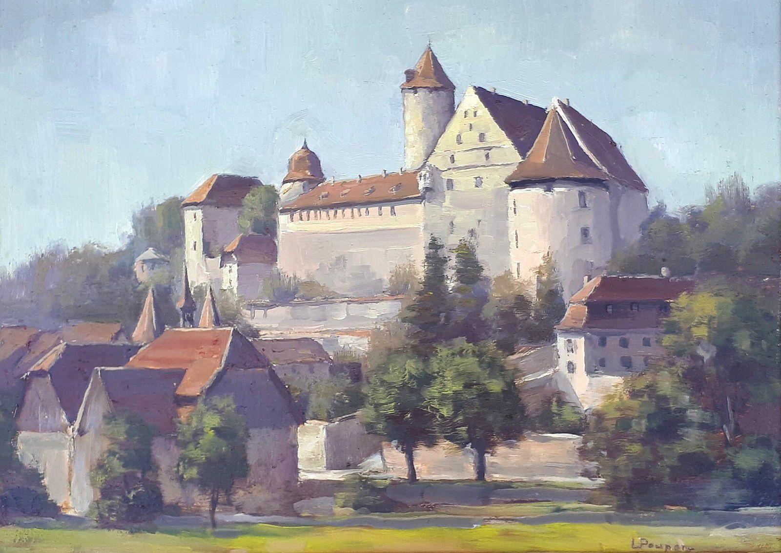 Louis Poupon, 1907-1970, peintre ajoulot
