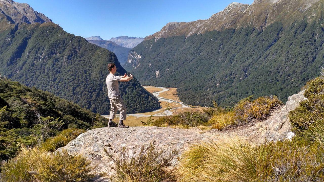 Le ritsuzen, ça se pratique n'importe où, et donc pourquoi pas en Nouvelle Zélande... Merci Julien!