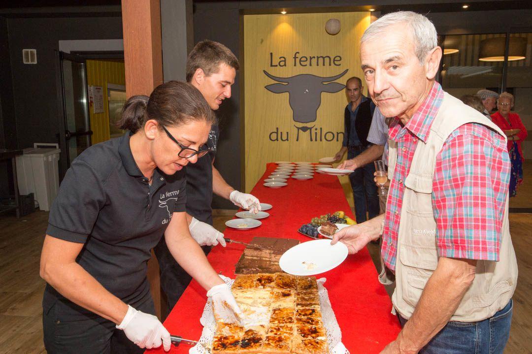 7 septembre 2018 OCTANTENAIRE DANIELLE : Le repas les Desserts