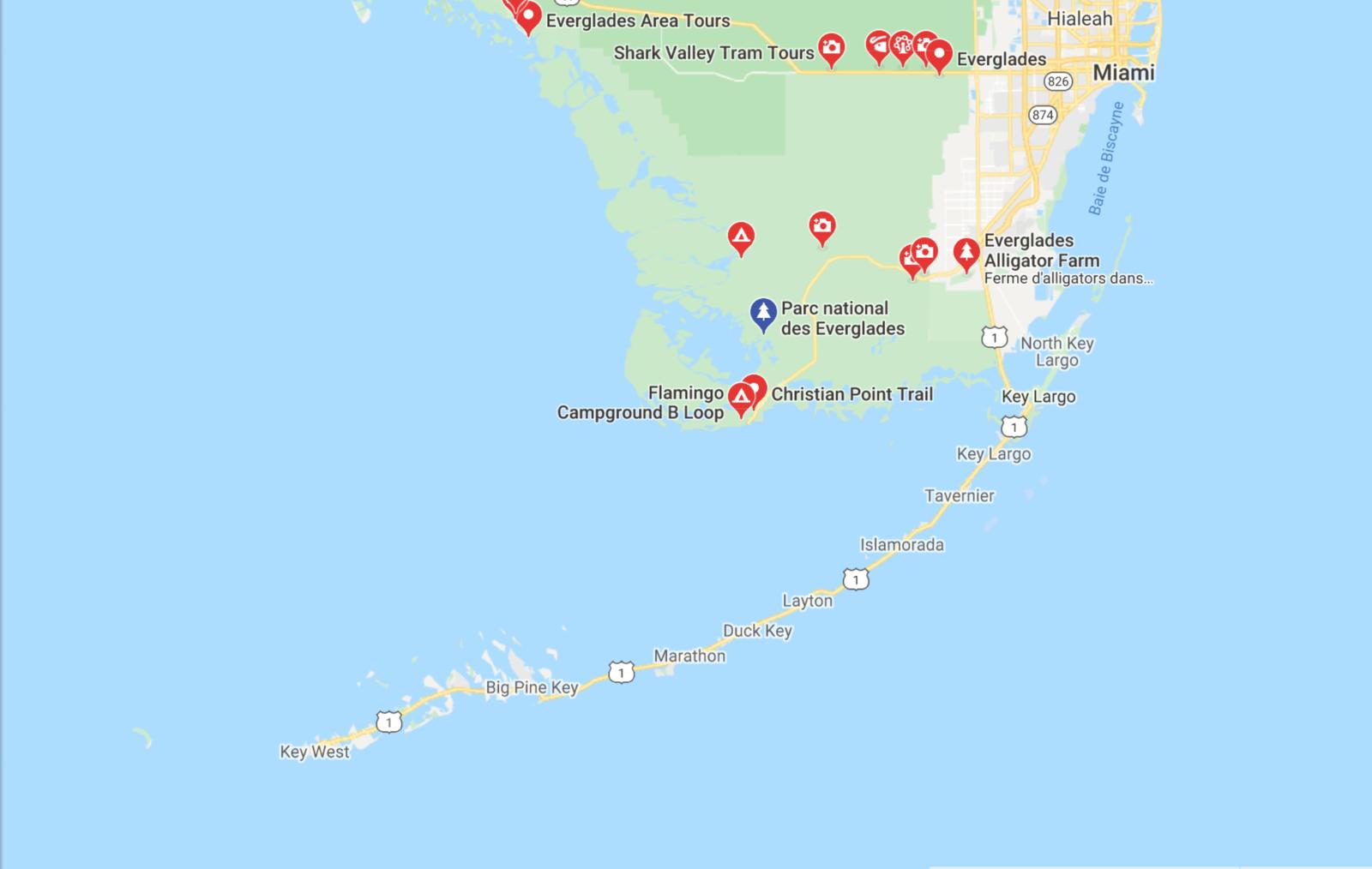 FLORIDE : des EVERGLADES à KEY WEST