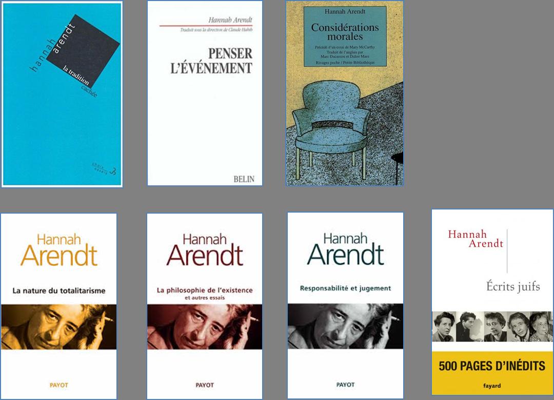 Bibiothèque de l'association Autour de Hannah Arendt (1)