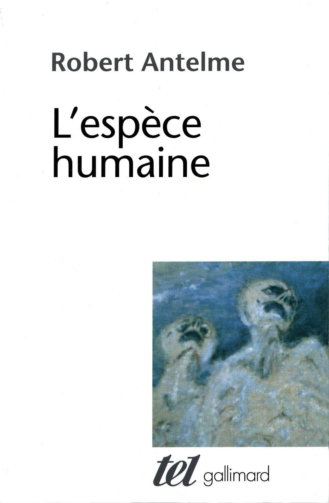 Espèce humaine et monde commun (2 avril 2020)