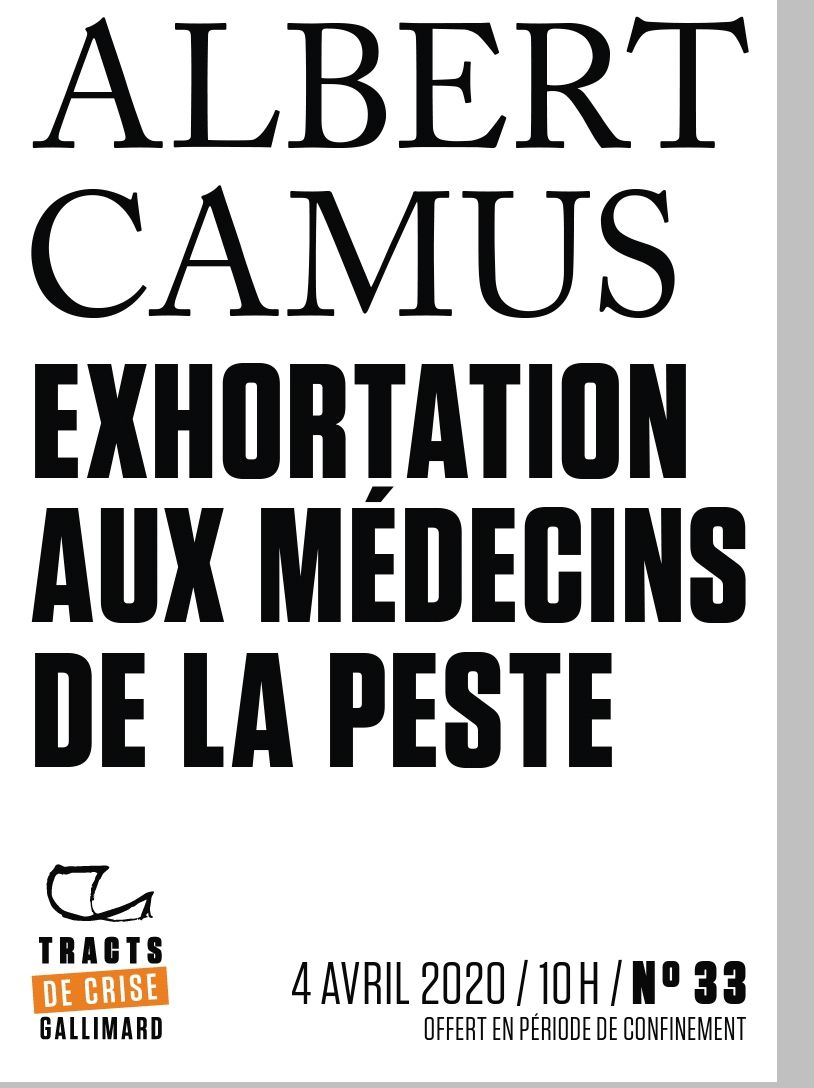 Exhortation aux médecins de la peste