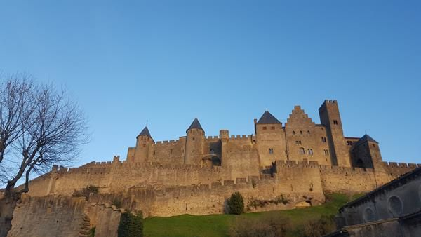 Un petit tour à Caux ((34) et première approche de Carcassonne (11)