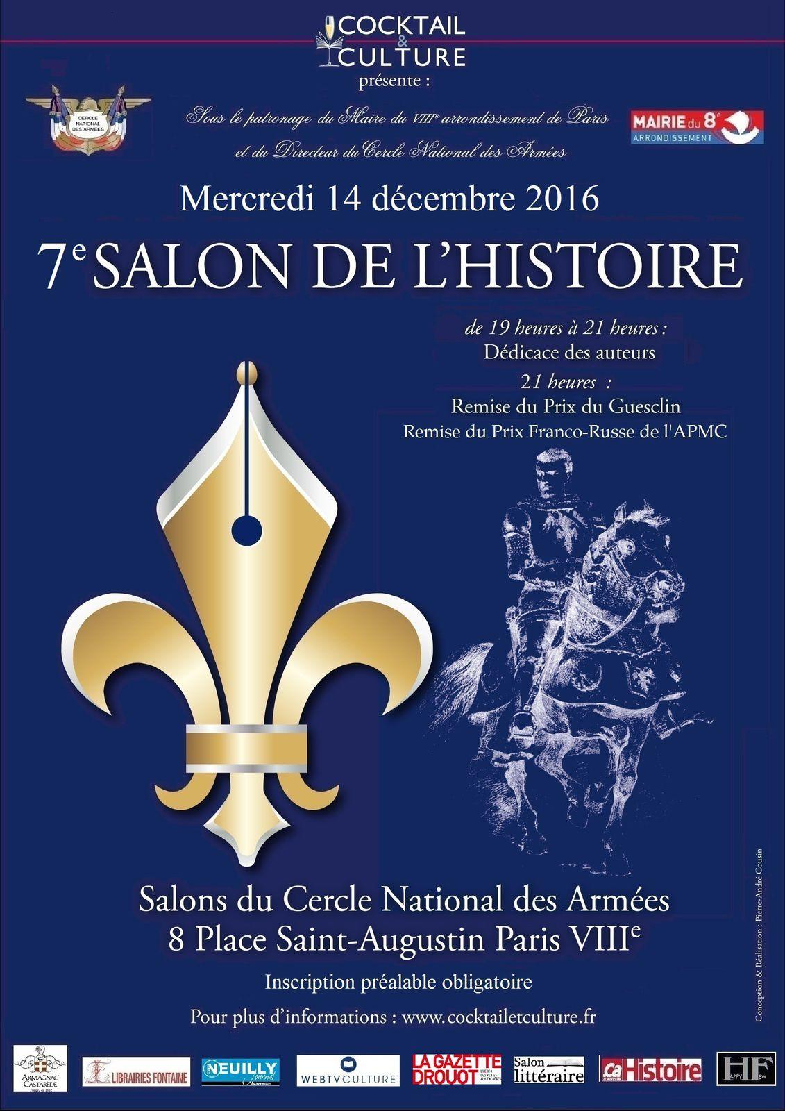 7e Salon de l'Histoire.