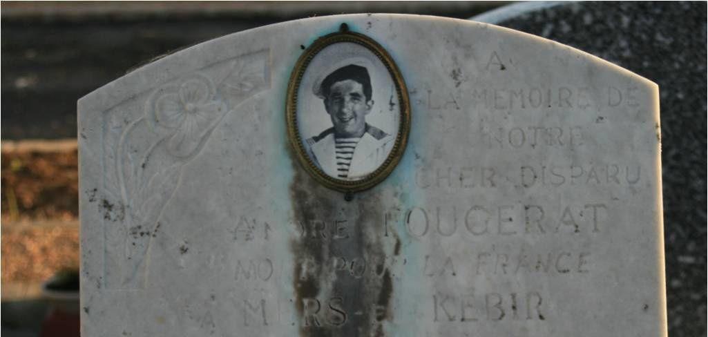 Au cœur du cimetière d'Issy-les-Moulineaux se trouve la tombe d'un jeune marin : André Fougerat, mort à l'âge de 22 ans, le 3 juillet 1940, lors de la tragédie de Mers El-Kébir.