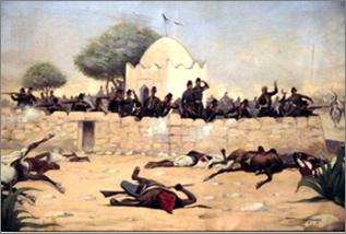 Combat de la Koubba du marabout de Sidi-Brahim.