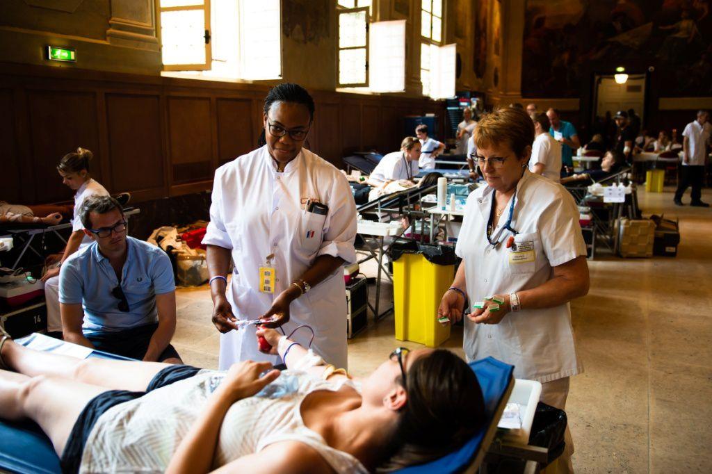 Docteur Thomas Pouget du CTSA : « Donner votre sang pour les militaires blessés en opérations ! »
