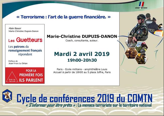 Conférence sur le terrorisme et son financement.