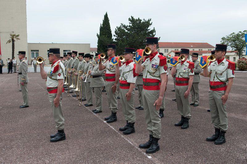 Le 68e RAA de La Valbonne.