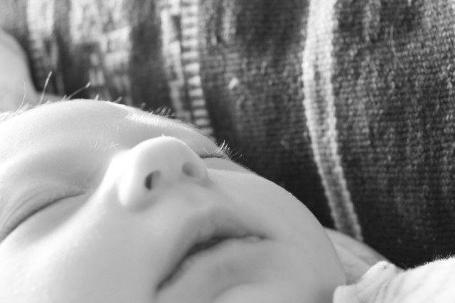 Bébé B. - 5 semaines