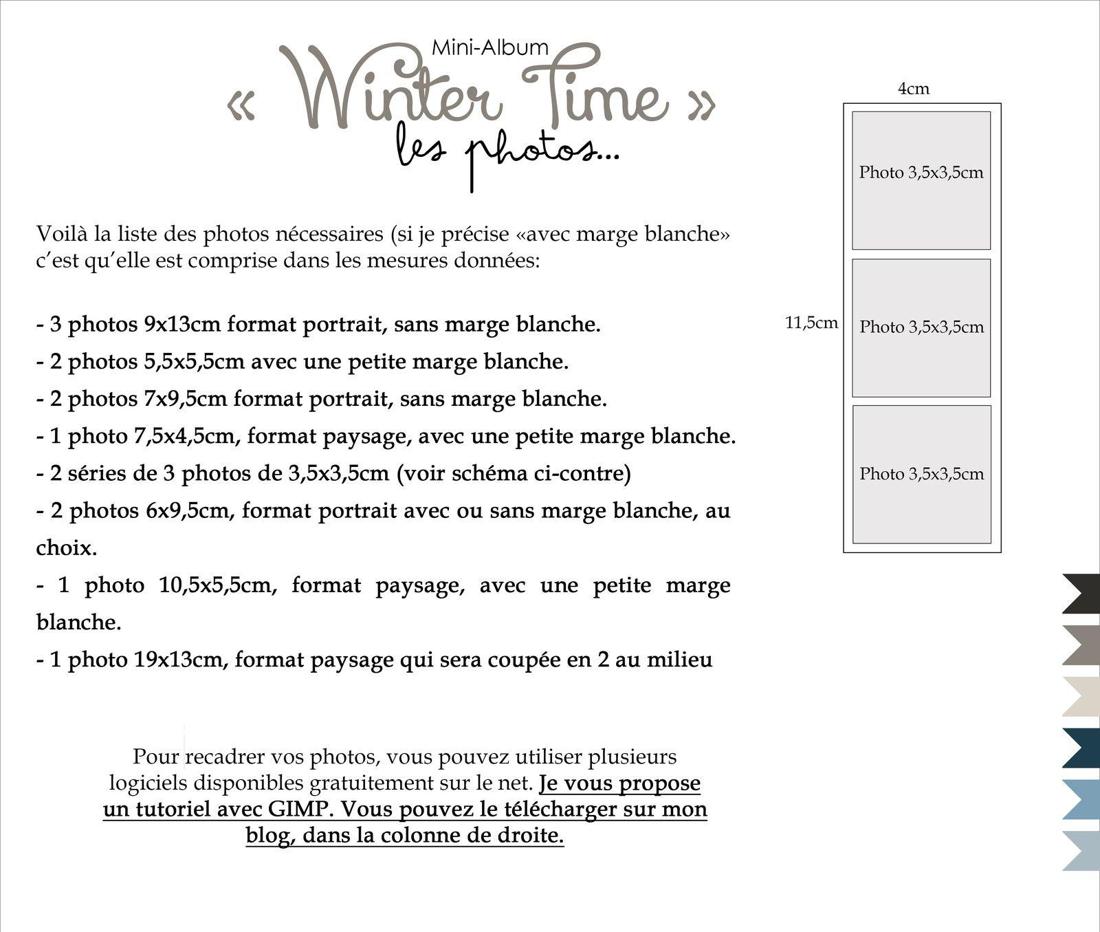 Mini album Winter Time!