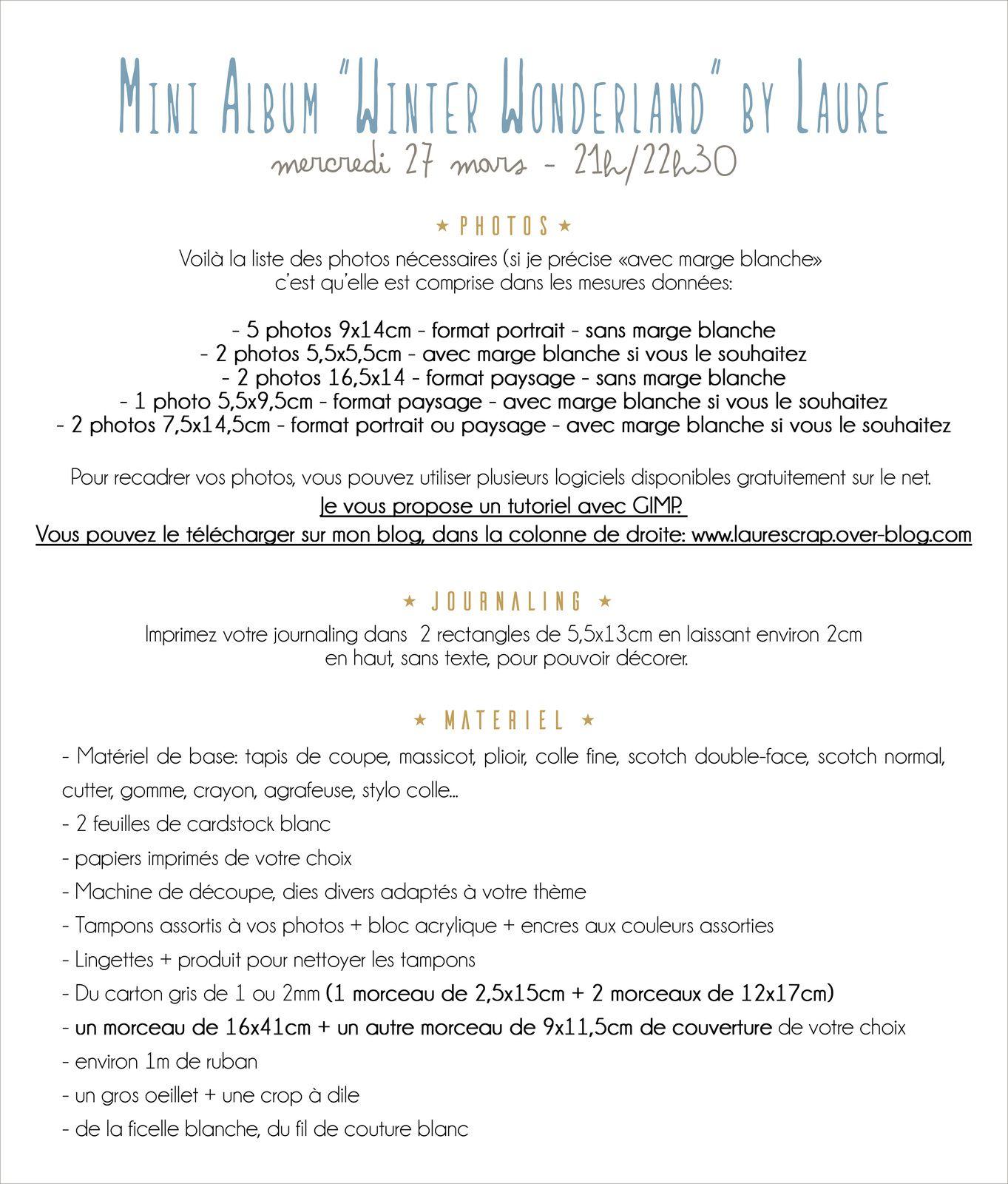 """Mini album """"Winter Wonderland"""""""