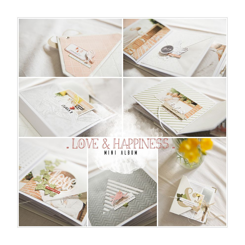 "Aperçu mini album ""Love & Happiness"""