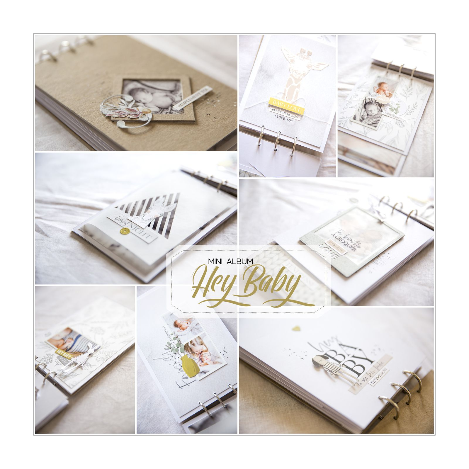 "Mini album ""hey Baby"""