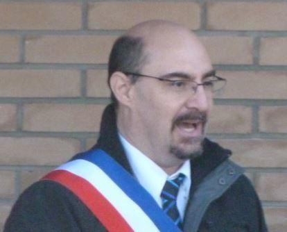M. Pascal Sommerhalter, maire de Mooslargue, pourtant élu au avec le moins voix de tous les membres du conseil municipal