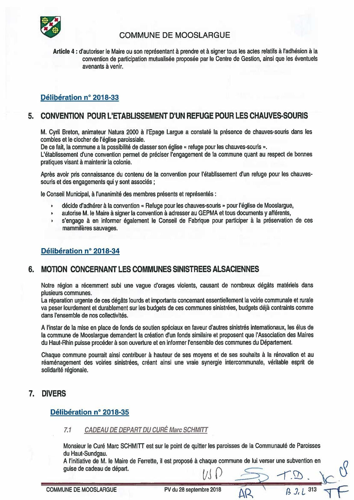 Un nouvel adjoint malgré lui, Thierry Frelon ? (conseil municipal du 28 septembre 2018)