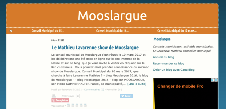 "Le blog ""Latraviata"""