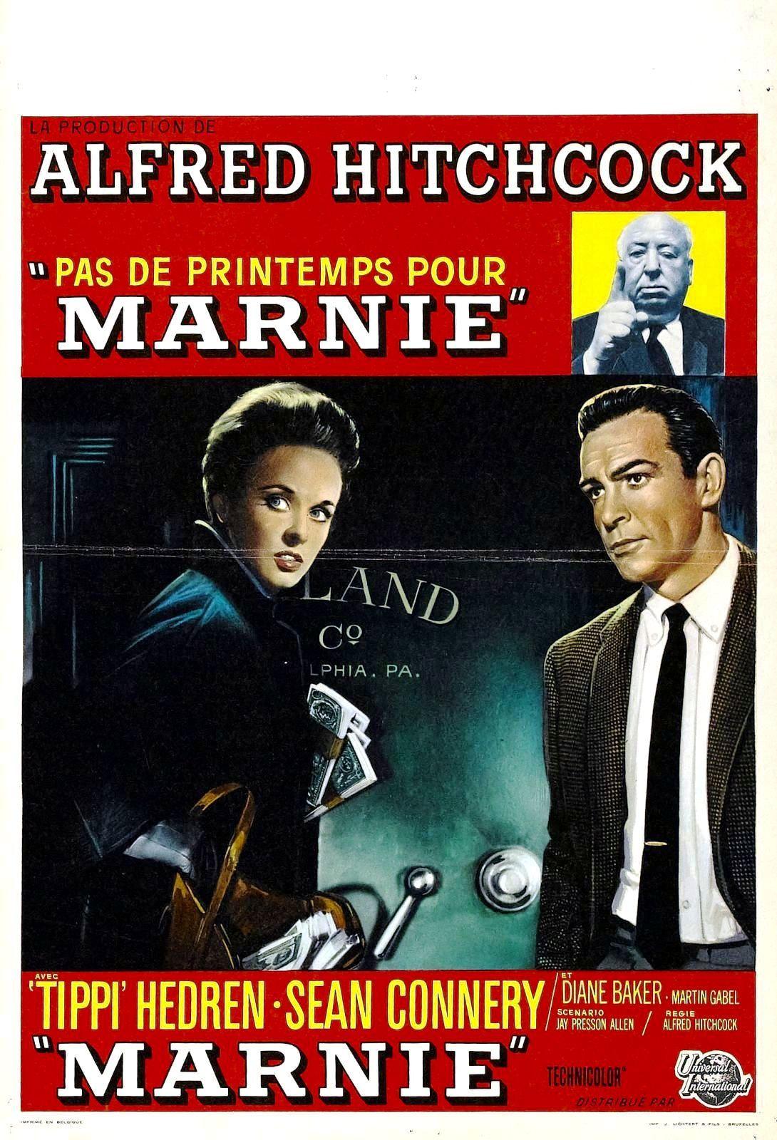 Pas de printemps pour Marnie de Alfred Hitchcock