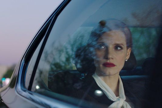"Jessica Chastain dans  ""Miss Sloane"" et ""Molly's Games""."