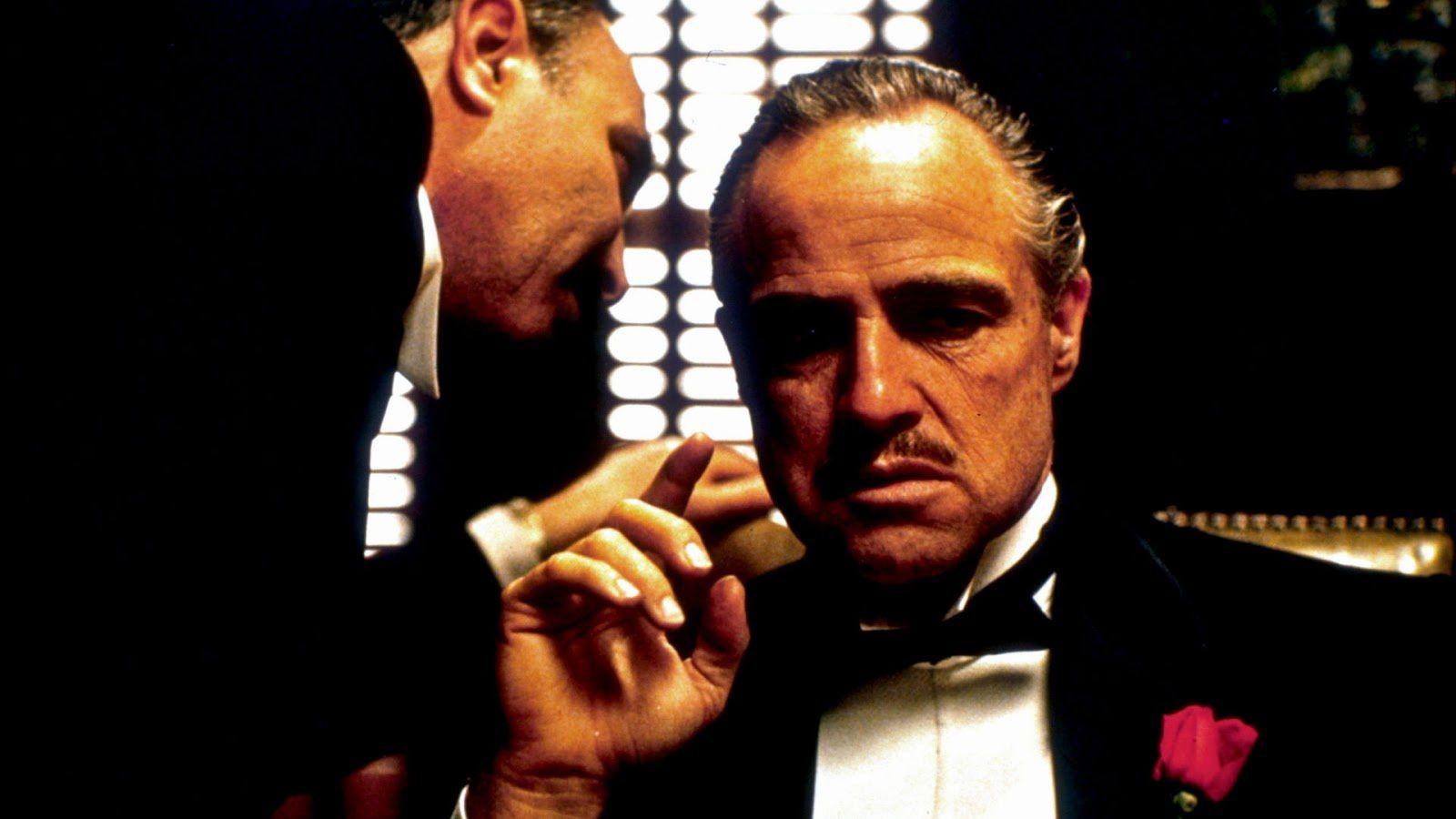 Marlon Brando et Al Pacino