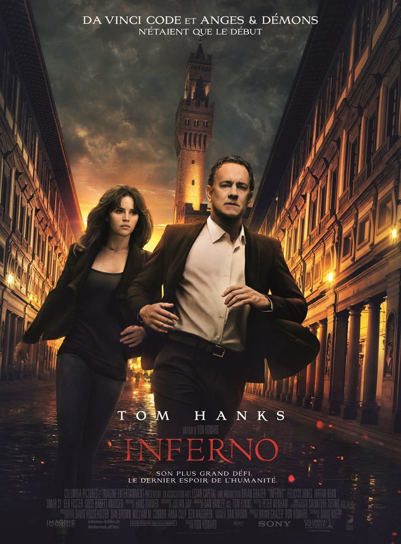 [critique] Inferno : pas si Dantesque