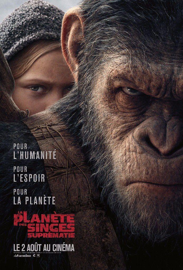 la Planète des singes : Suprématie en salles le 2 août