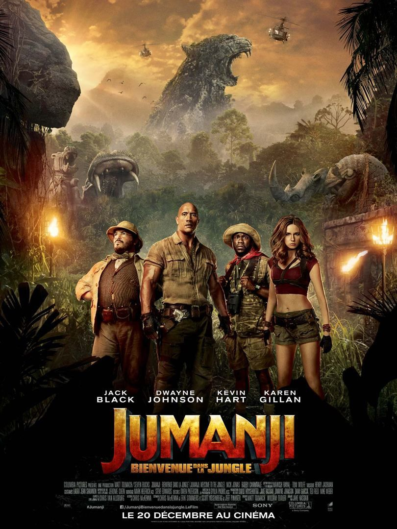 Jumanji : Bienvenue Dans La Jungle en blu-ray 3D