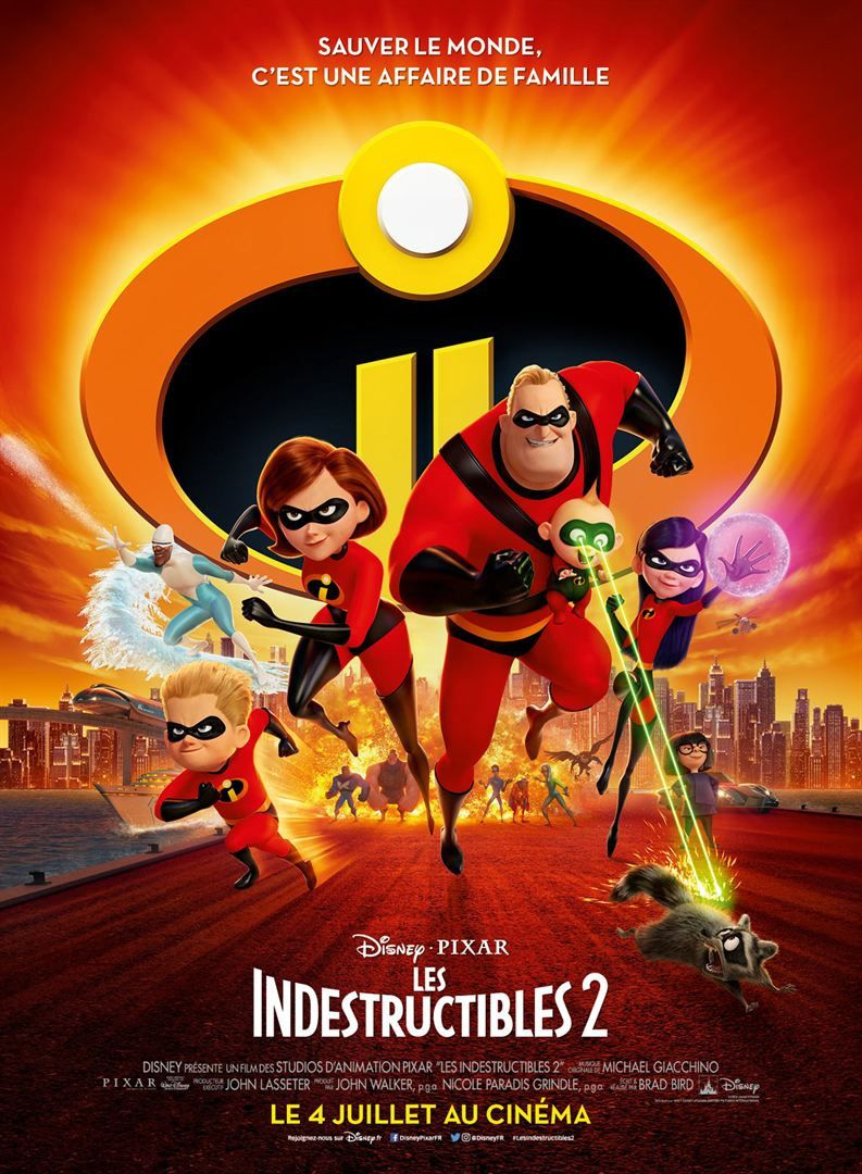les Indestructibles 2 en vidéo depuis le 9 novembre 2018