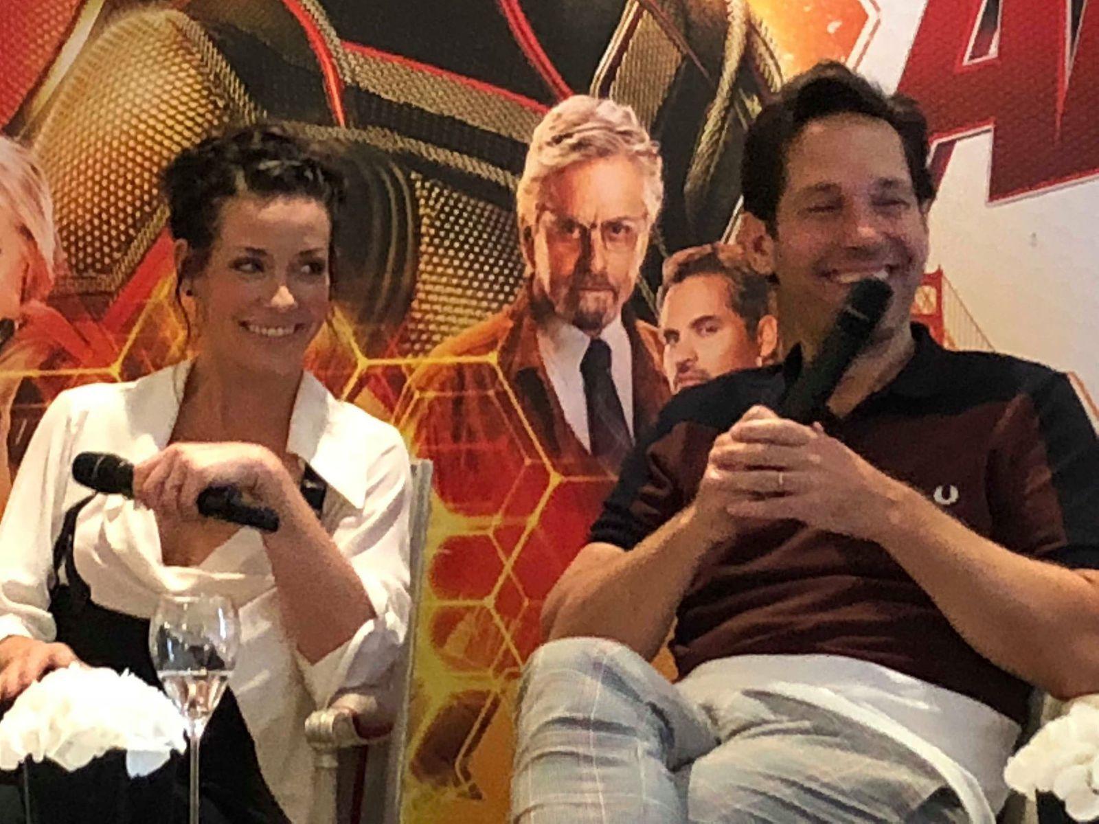 Rencontre avec Peyton Reed & les acteurs d'Ant-Man & la Guêpe