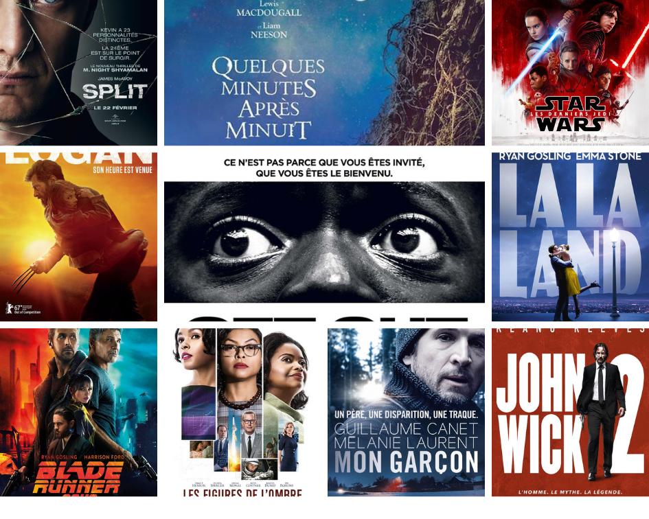 Tous les films critiqués de 2017