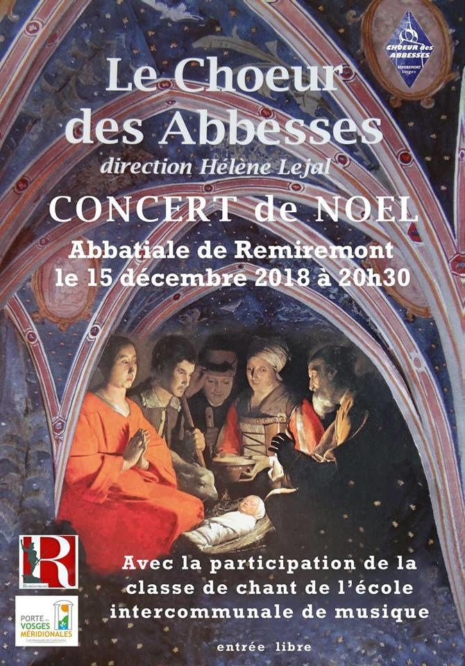 Prochain concert de Noël
