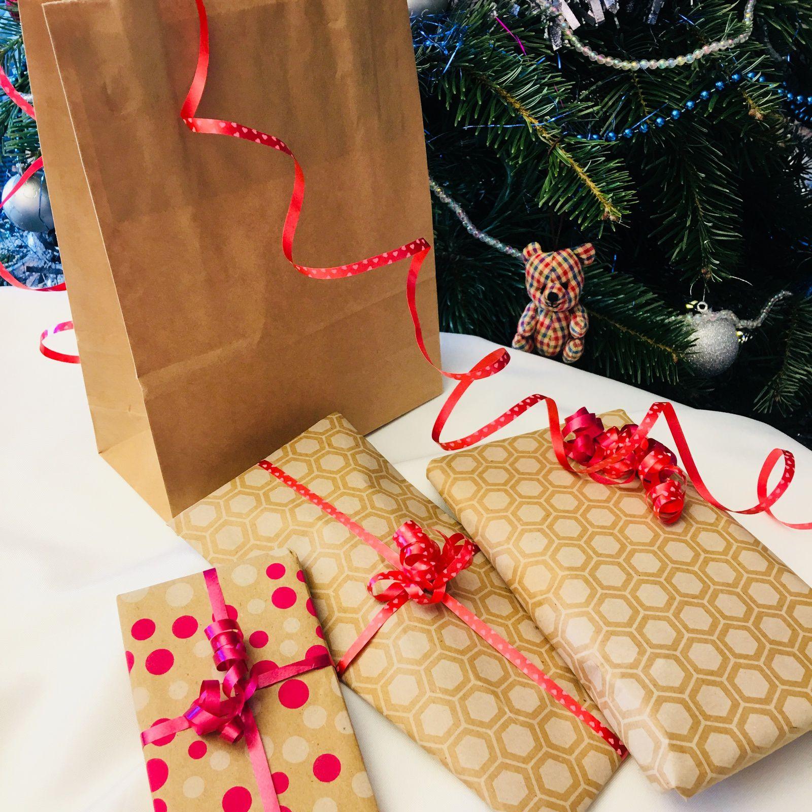 Les jolis papiers cadeaux de Delphine