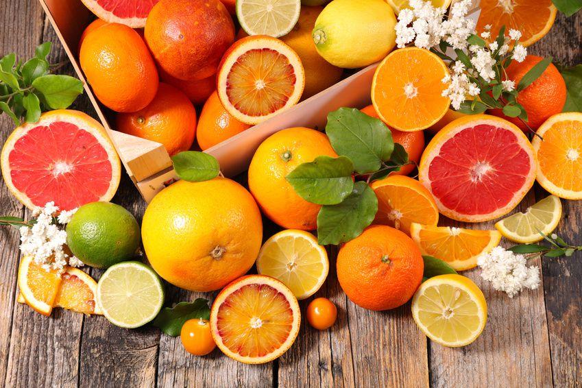 Les agrumes : fruits de saison