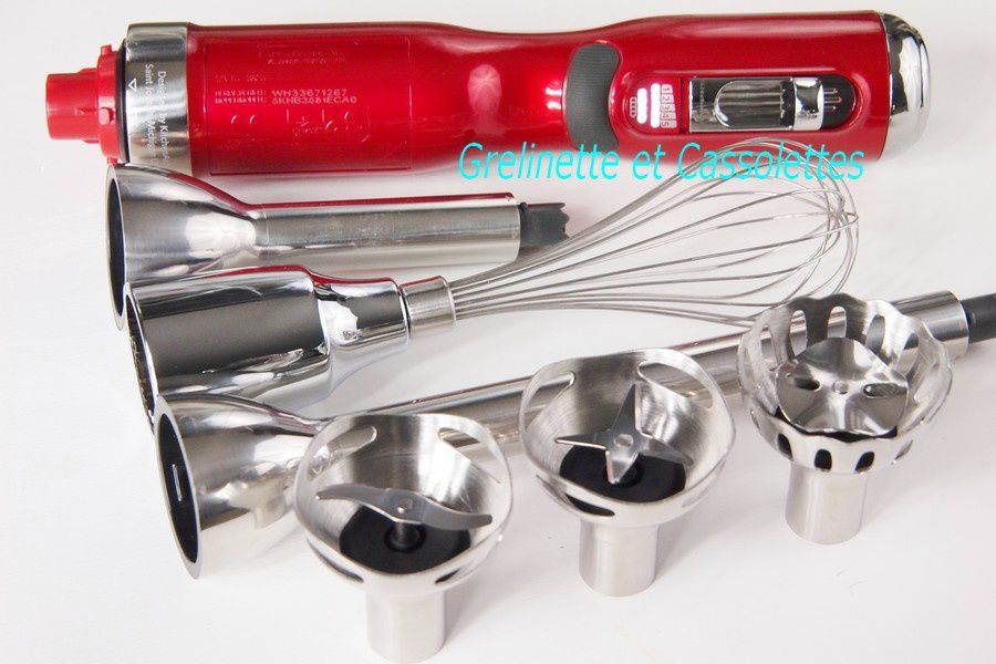 Pourquoi j'aime le Mixeur Plongeant sans fil Kitchen Aid