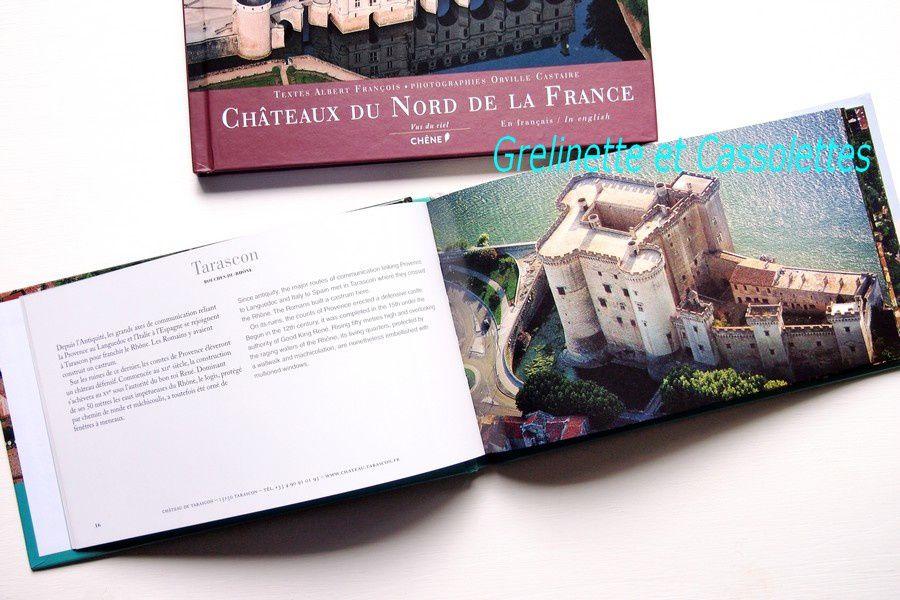 Châteaux du Nord/du Sud de la France vus du Ciel