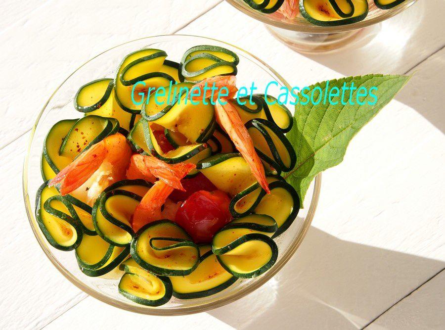 Salade de Courgettes, tellement de saison