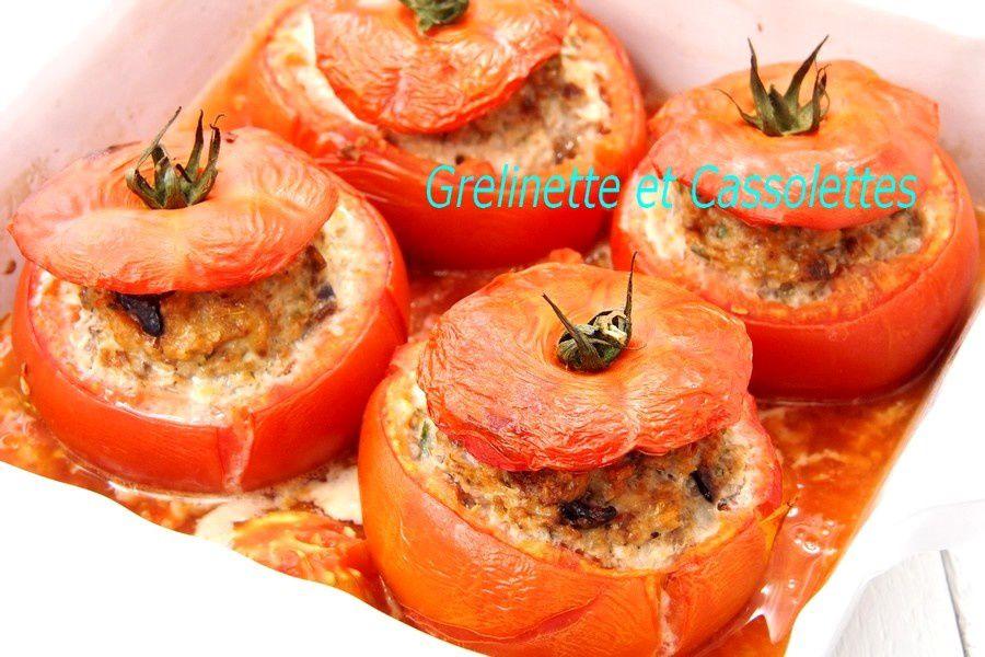 Tomates Farcies à La Provençale Grelinette Et Cassolettes