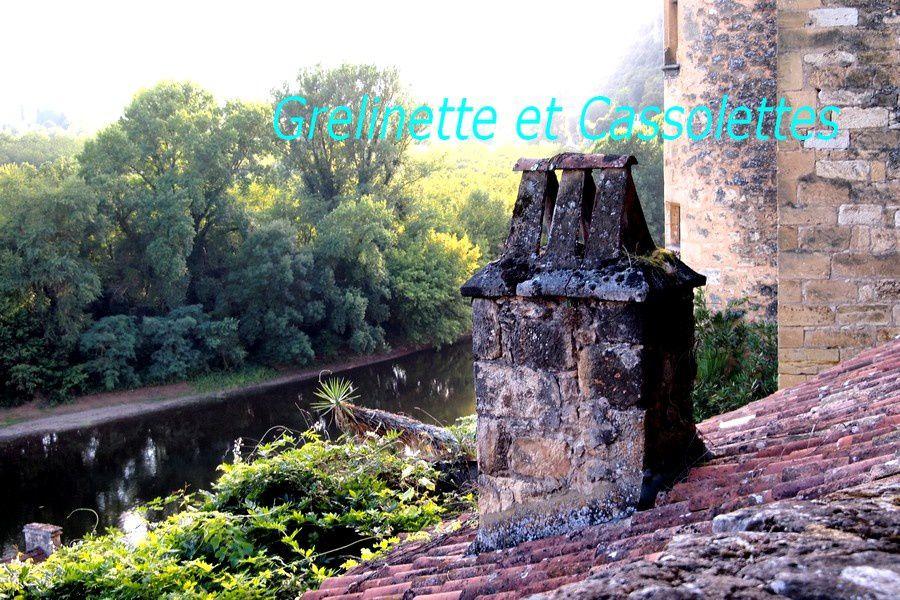 La Roque Gageac : Ville Perchée lovée au pied de la Falaise