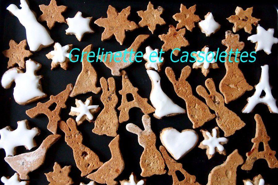 Biscuits de Noël Gingerbread Biscuits