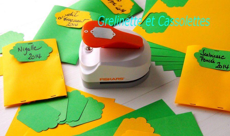 Le Tag Maker Fiskars, pour faire des Etiquettes