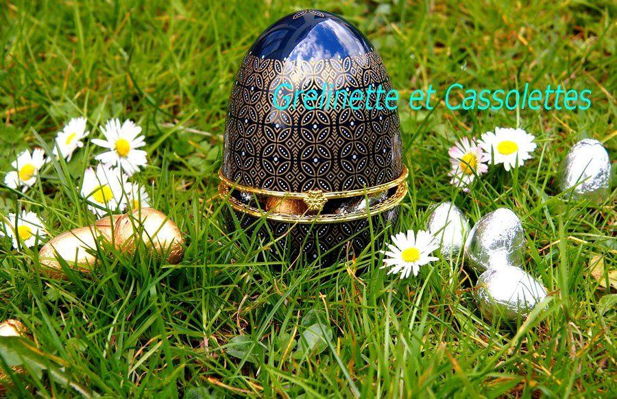 Oeuf de Porcelaine Comtesse du Barry : l'élégance pour la Tradition de Pâques