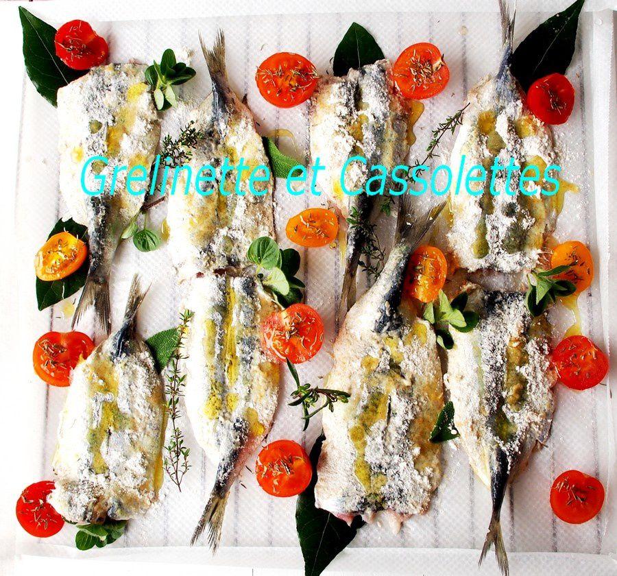 Sardines en Papillon