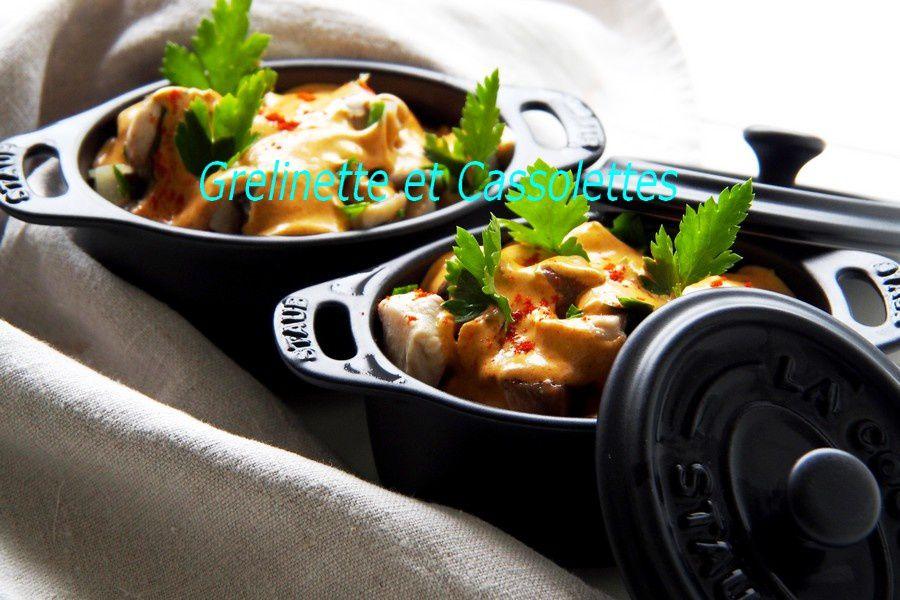 Cassolettes de Poulet au Paprika