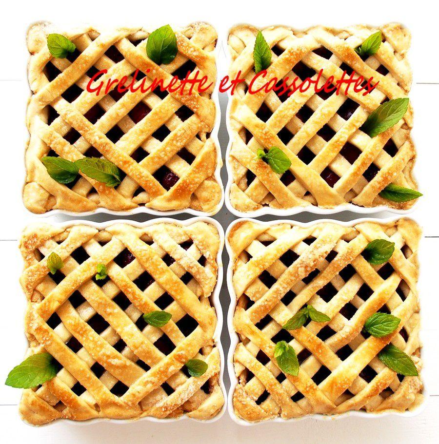 Cherry Pies au Cognac