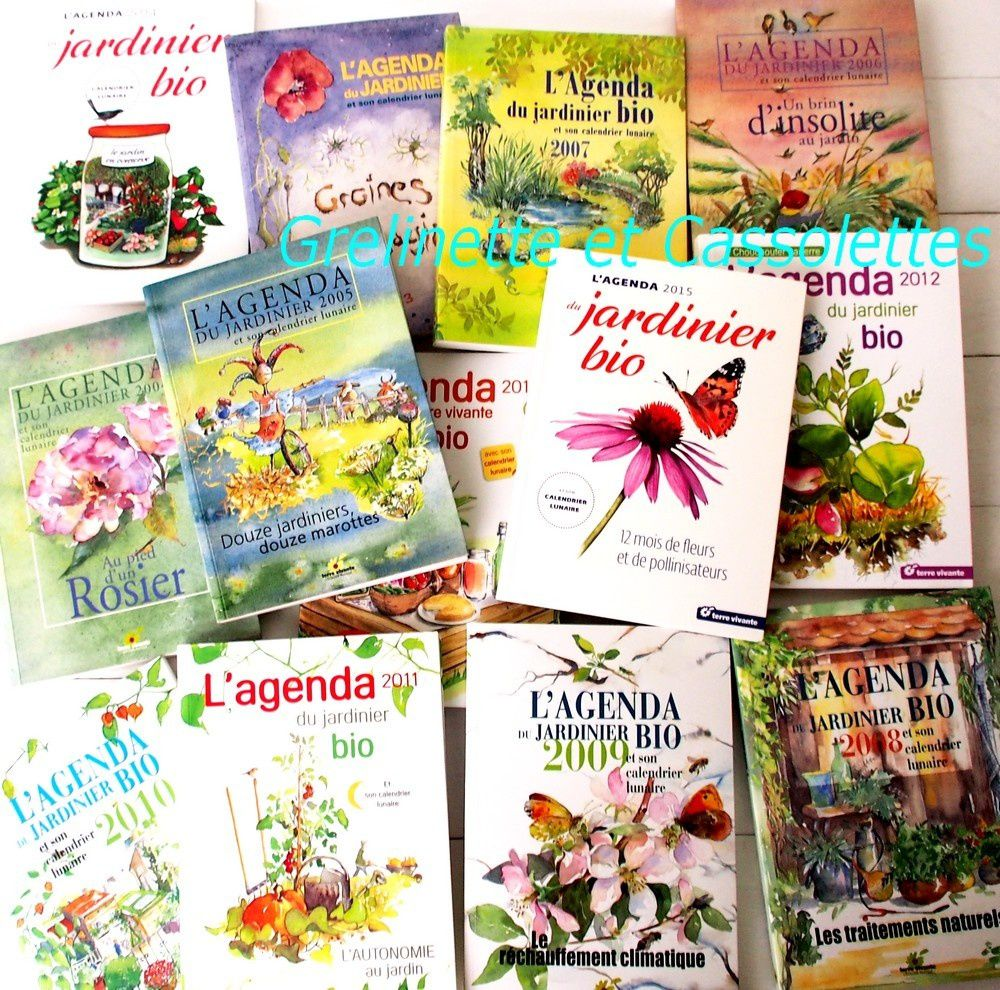 L'Agenda du jardinier bio 2016
