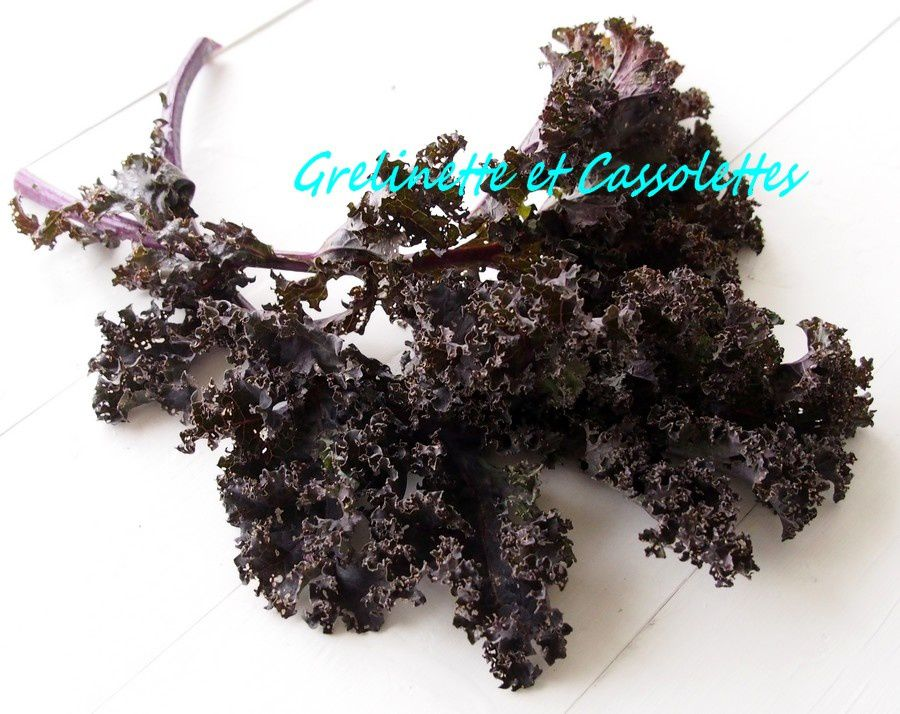 Chou Kale brun
