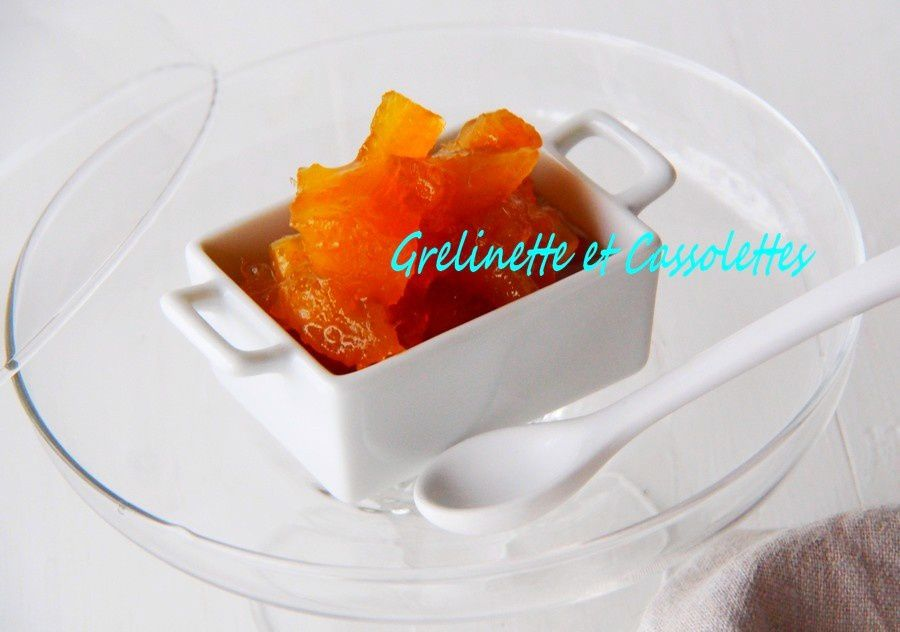 Ananas Confit au Rhum et à la Fève Tonka