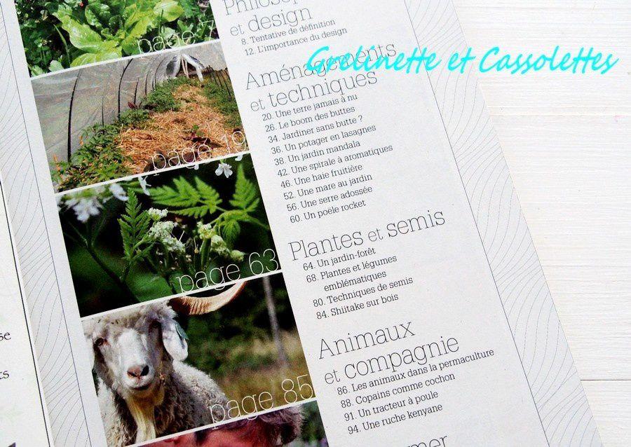 Hors Série 4 Saisons du Jardinage Bio Spécial Permaculture