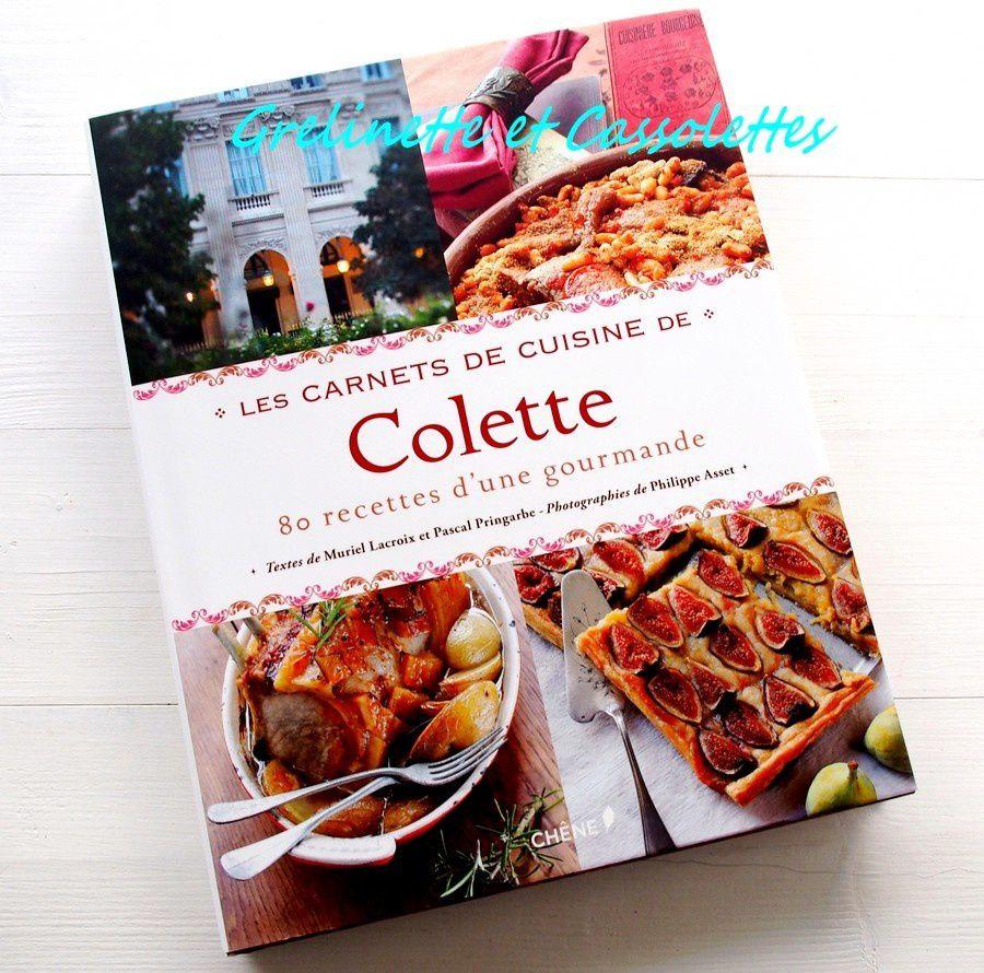 Les Carnets de Cuisine de Colette...